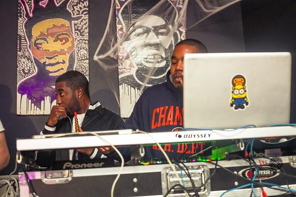 DJ SIR MANNY & TEAMFLOSS 'HALLOWEEN'