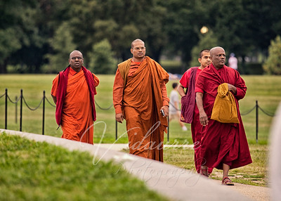 Monks on the Monument