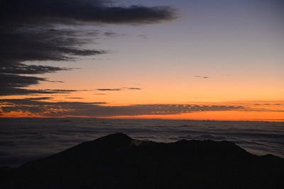 Maui sunrise- Mt. Haleakala, Hawaii
