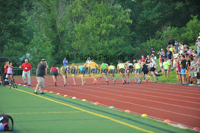 Final Turn/Finish - Ron Warhurst Mile - 2014 Michigan Track Classic