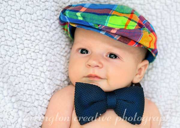 Baby Robert's First Photo Shoot!