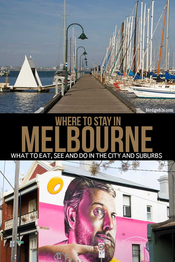 When travelling to #Melbourne, should you stay in the centre of the city, or one of its hip, surrounding suburbs? This guide explores what there is to do, see, eat and drink in the city, as well as areas such as Fitzroy, Brunswick, Prahran and Footscray. Armed with this information, you'll be able to make your choice of where to stay next time you visit this #Australian city. / #traveltips / #Australia / Melbourne Acommodation / Melbourne Hotels / #Melbournecity / #VisitVictoria /