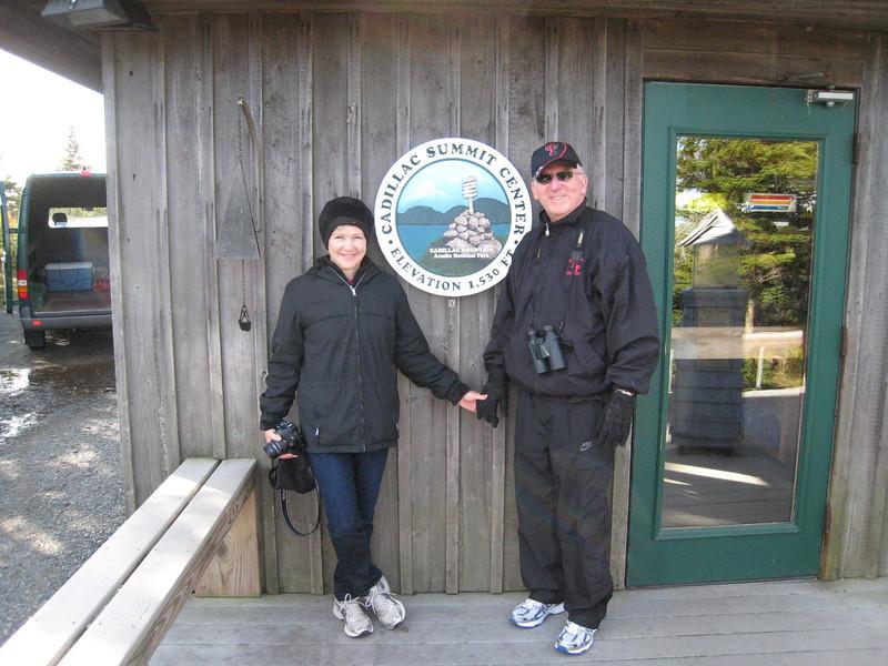 Mike & Linda - Cadillac Mountain, Acadia National Park