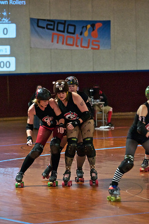 Rocktown Rollers vs Five 40 Roller Girls (Nov 17 2012)