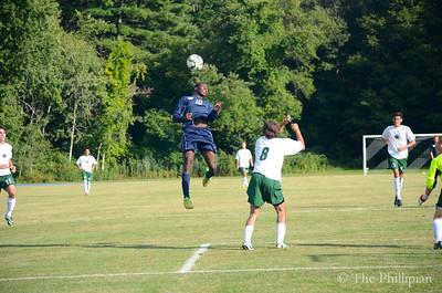 Boys Soccer vs. Brooks 9/17/14
