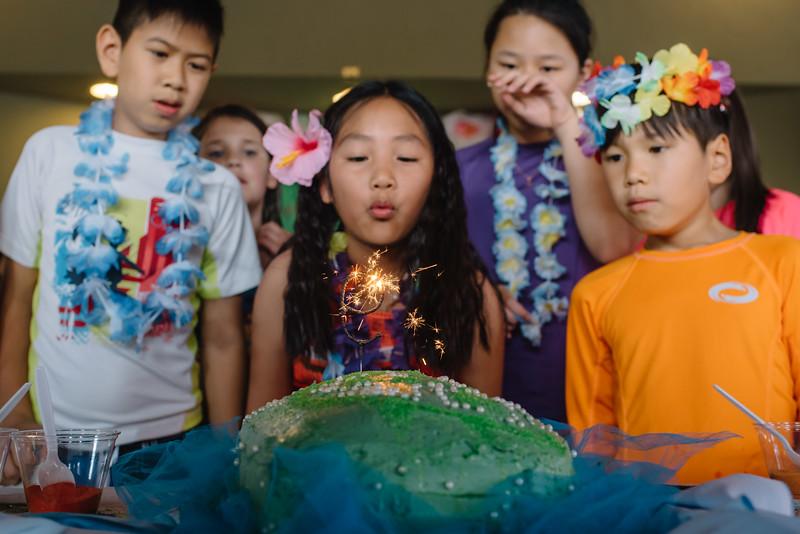 Alivia's 9th Birthday