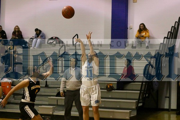 Sullivan West vs Fallsburg girls