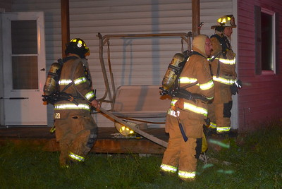 09-02-14 Coshocton FD House Fire
