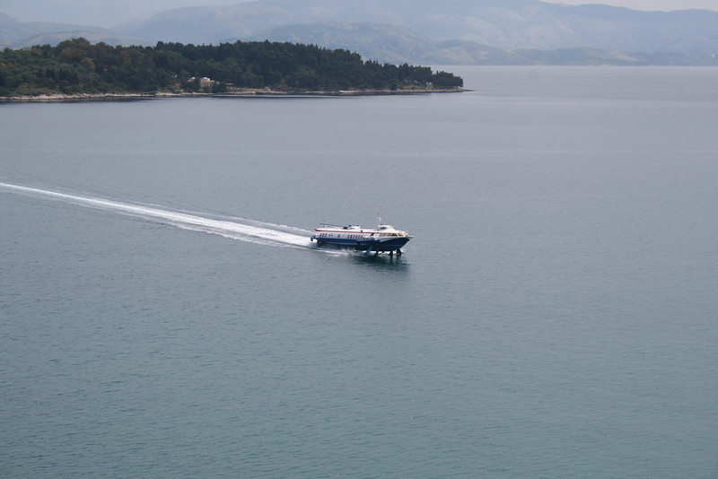 2008 - H/F SANTA II sailing in Ionian sea.