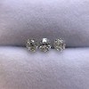 1.54ctw Antique Cushion Cut 3-stone Suite 6