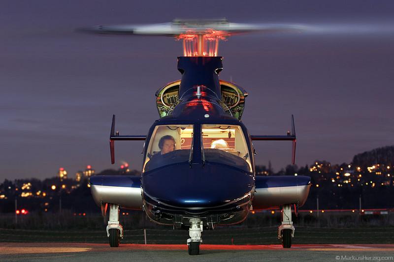 HB-ZBZ Bell 430 Swiss Jet AG @ Bern Switzerland 11Dec06