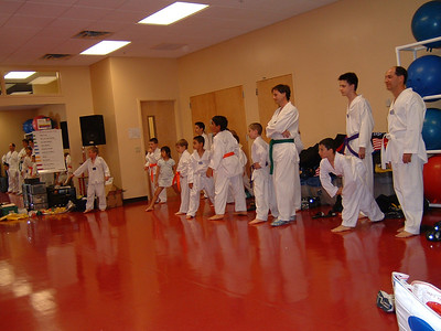 Riley Orange Belt