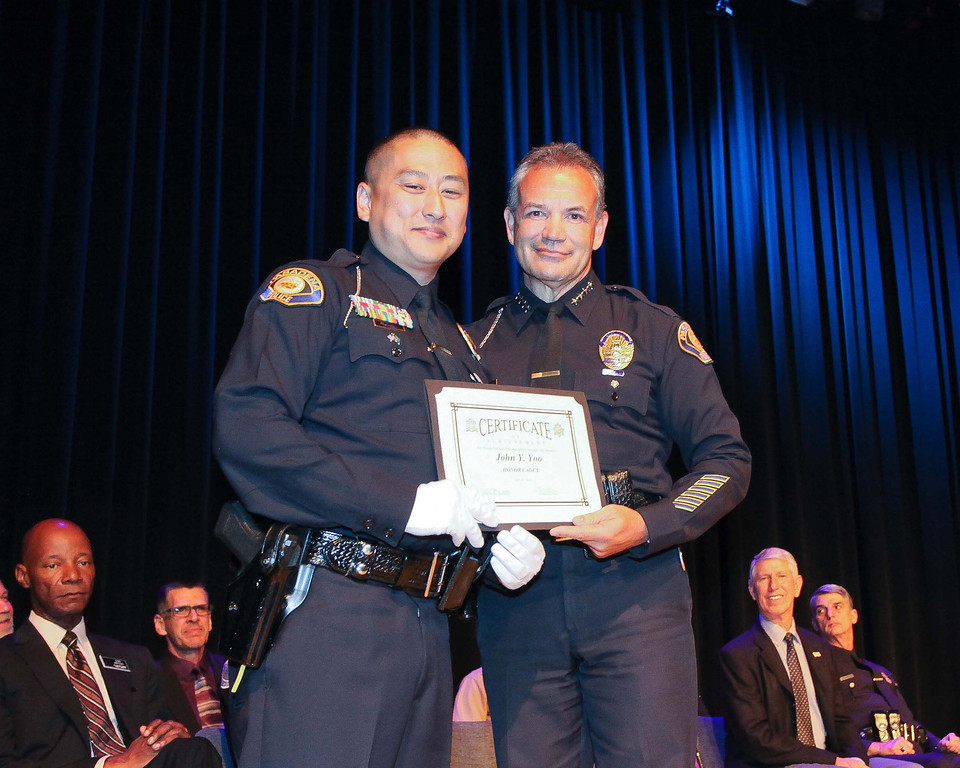. Rio Hondo College Police Academy graduation, Saturday July 13, 2013 at the Rio Hondo College Wray Theatre in Whittier. (Correspondent photo by Chris Burt)