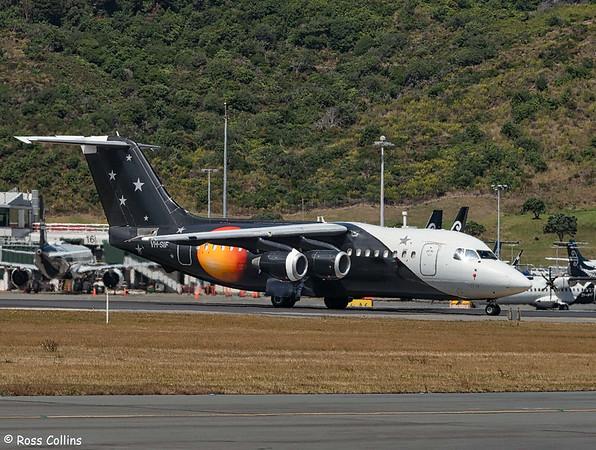 BAe 146-200(QC) VH-SIF at Wellington 2021