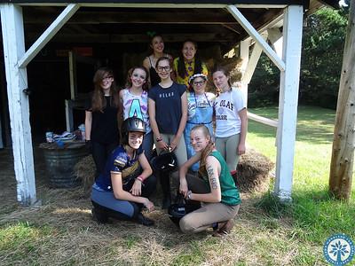 Gymkhana at Camp Woodland!