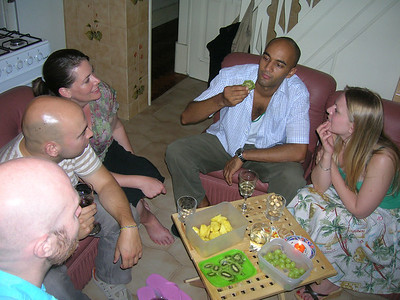 Len's birthday 2008