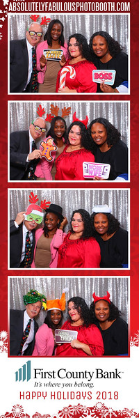 First County Bank's Holiday Party