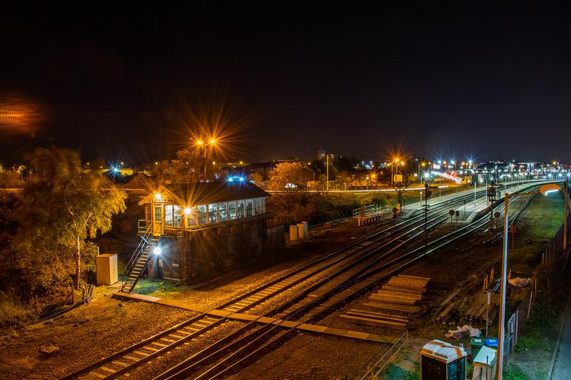 Yarmouth Vauxhall by Night