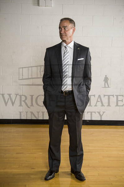 17687 Basketball coach Scott Nagy for Season Ticket Folder 6-22-16