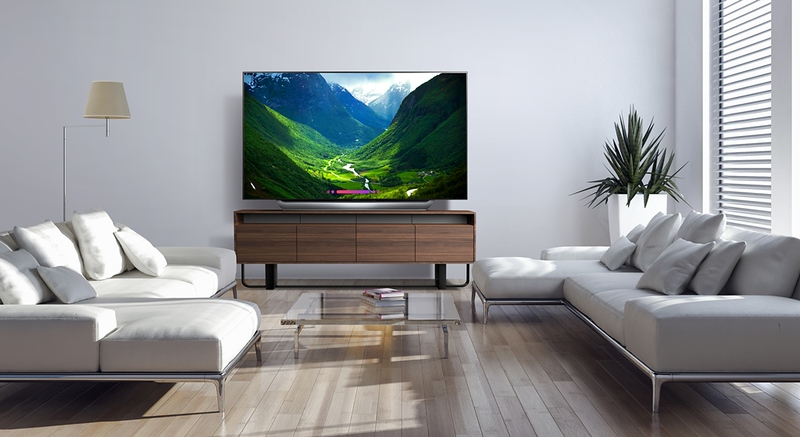 Enjoy a premium cinematic, home theater experience with this big screen LG OLED TV.  #ad The larger screen brings a more immersive experience into your home!