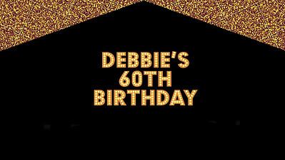 19.06 Debbie's 60th Birthday