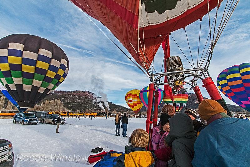 Snowdown 2020 Hot Air Balloon Rally
