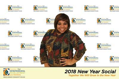 PGCC Center for Entrepreneurial Development & Training New Year Social 2018