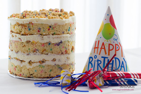 Cooking by the Book: Birthday Layer Cake (<i>Momofuku Milk Bar</i>)