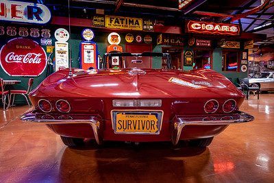 1967 Maroon Convertible L71