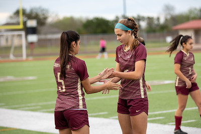 Los Fresnos vs Hanna Girls Soccer 2019