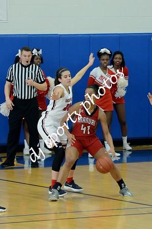 2018-03-03 Sacred Heart vs Manual Girls Basketball