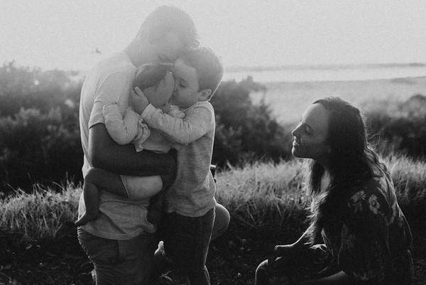 Claire, Gary, Riley & Emilia | Huskisson, Australia