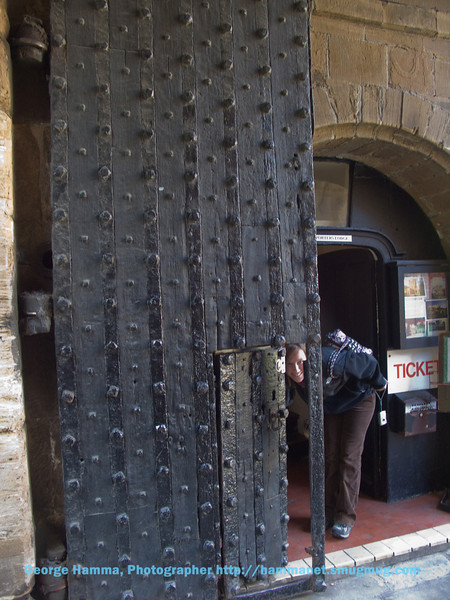 Durham Castle - The Gates (for real)