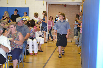 6th grade Moving up ceremony 2012