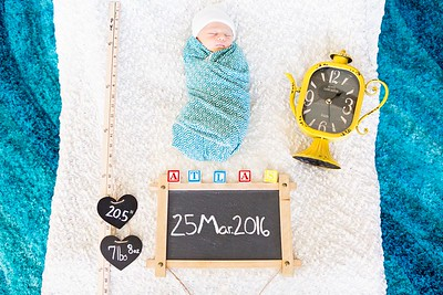 Baby Atlas Newborn Session