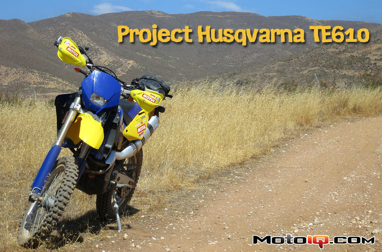 Project Husqvarna TE610 Part 6: Horsepower and Handlebars