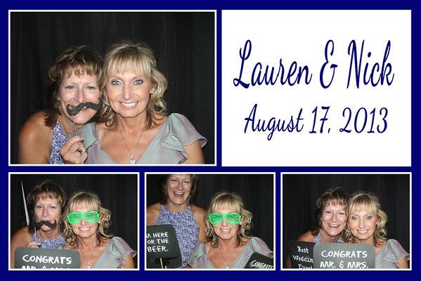 Lauren & Nick August 17, 2013