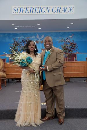 Trish and Charles Montgomery formal shots