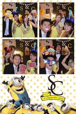 Stephanie & Calvin's Wedding 19 Sep 2015