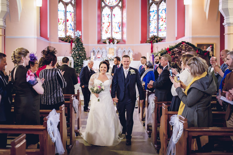 Rachel & Seamus December Wedding at the beautiful Keadeen Hotel in Newbridge Kildare