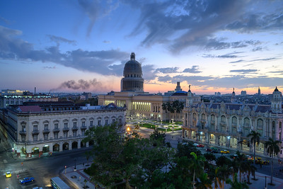 VIEWS OF OLD HAVANA FROM ABOVE