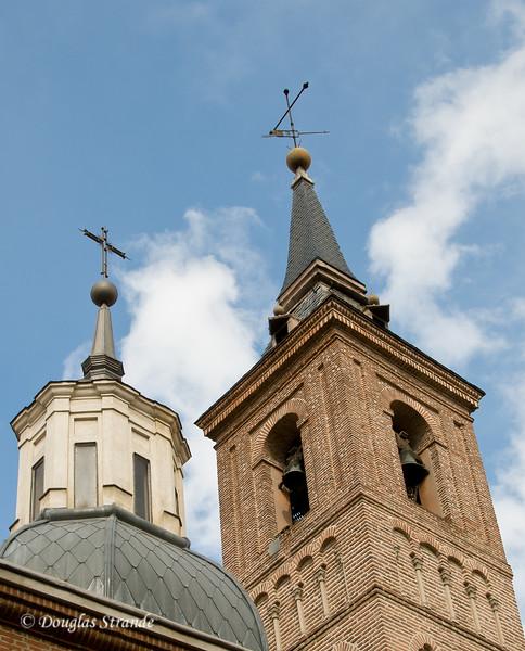 Sat 3/05 in Madrid: Iglesia de San Nicolas, oldest church in Madrid