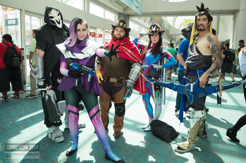 Comic-Con 2017 Day 1 Cosplay