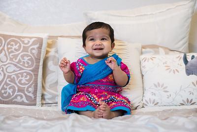 Eesha's 6 month portraits - March 2019