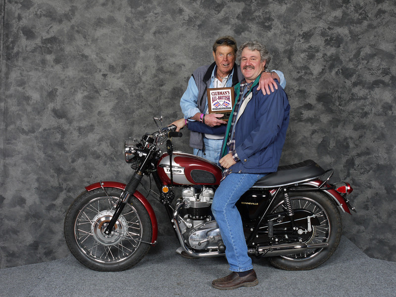 Ron Jacobs Street Heavyweight 1963-1970, Open - 1970 Triumph T120 Bonneville