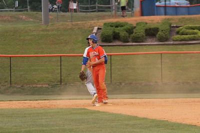 5/15/2018 Randleman vs Midway Varsity Baseball State Playoffs Rd 3