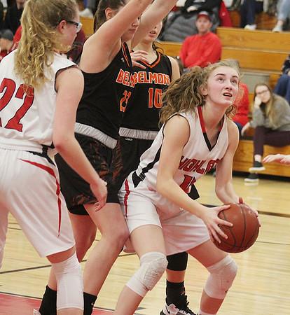 Highland vs Belmont Girls Basketball 2-25-20