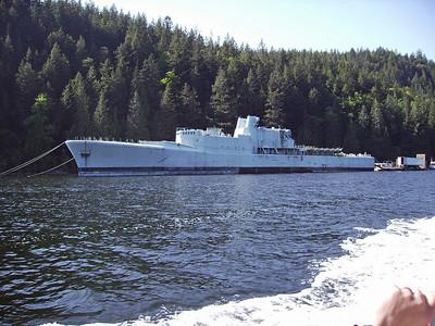 HMCS Annapolis Work Party