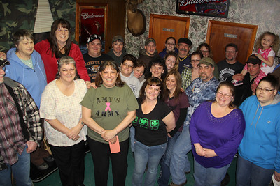 Fly High For Amy Cancer Benefit, Keystone Fish and Hunt Club, Tamaqua (2-22-2014)