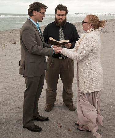 Karen Fearing weds Arjen Bleeker